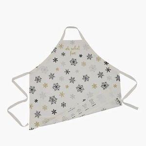 Kate Spade Snowflake Jingle All the Way Apron